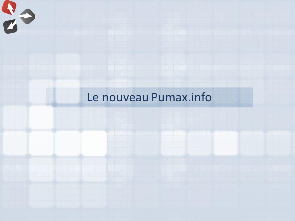 Le nouveau Pumax.info
