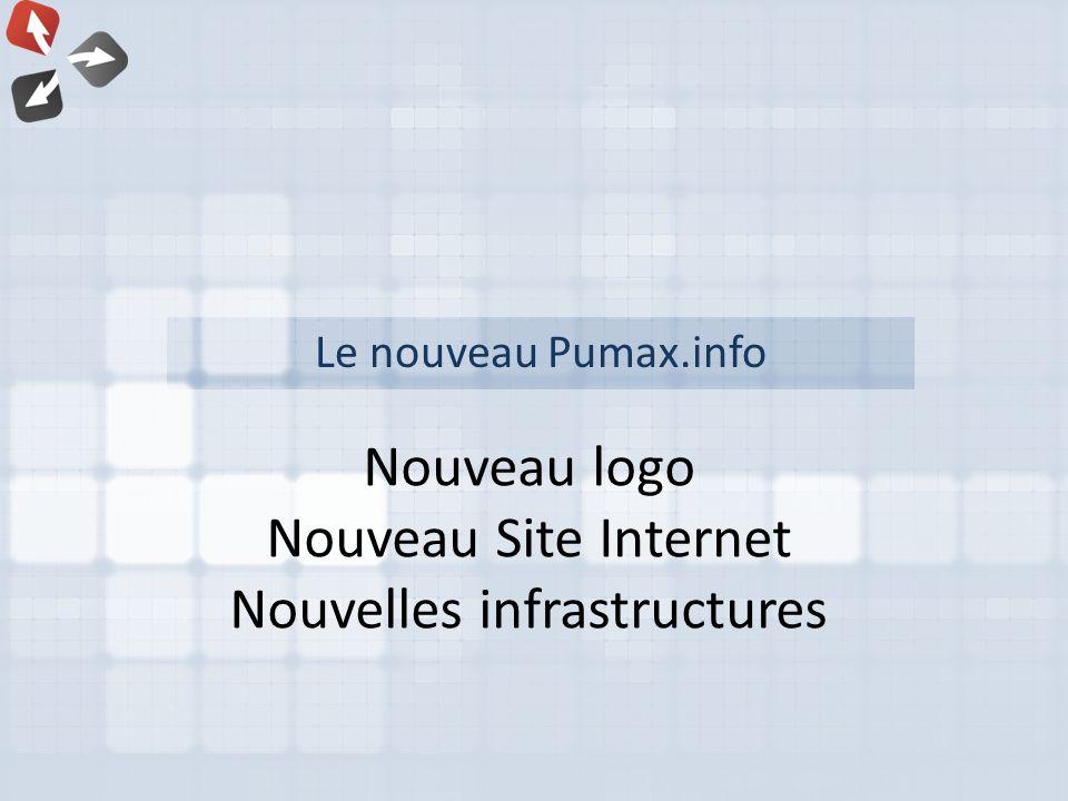 Nouveau logo Nouveau Site Internet Nouvelles infrastructures