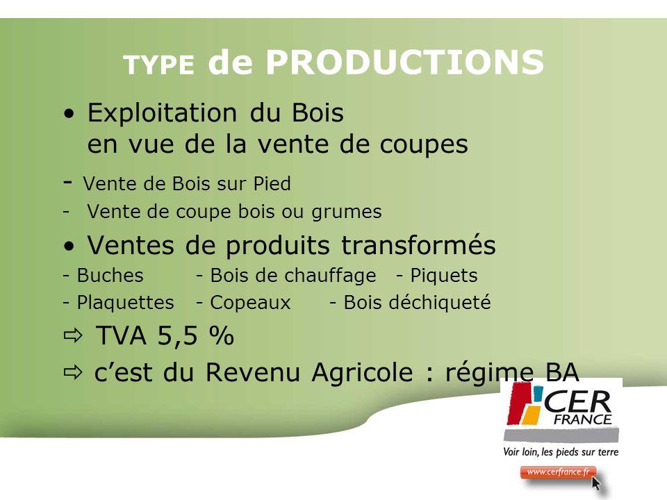 Bois Energie 17 decembre 20092 TYPE de PRODUCTIONS Exploitation du Bois en vue de la vente de coupes - Vente de Bois sur Pied -Vente de coupe bois ou