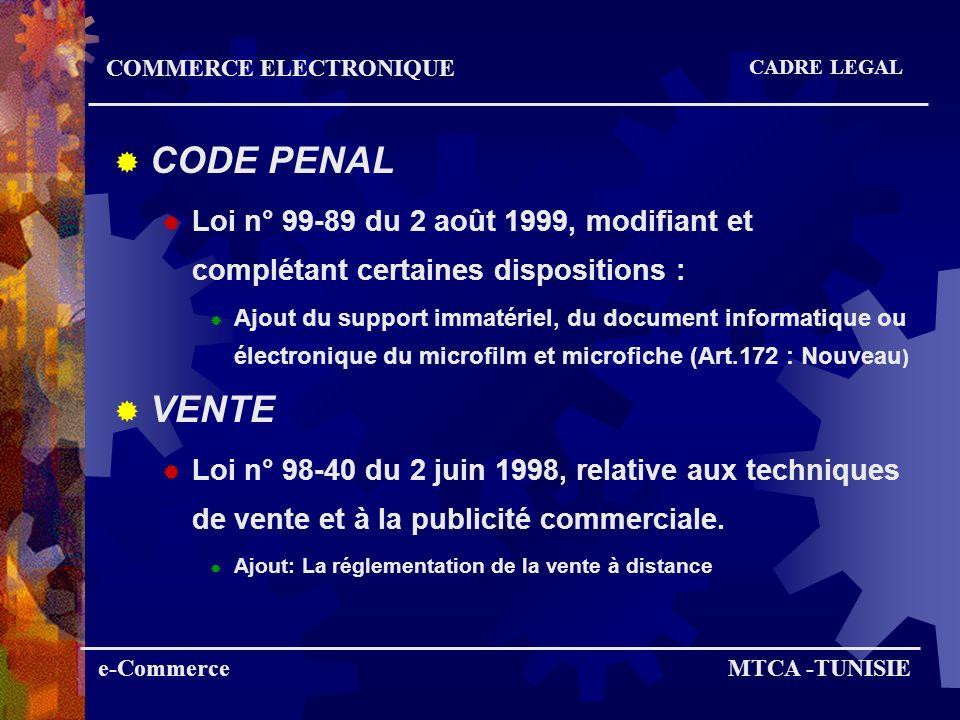 CODE DES OBLIGATIONS DES CONTRATS Loi n° 2000-57 du 13 Juin 2000, modifiant et complétant certains articles du code des obliga- tions et des contrats.