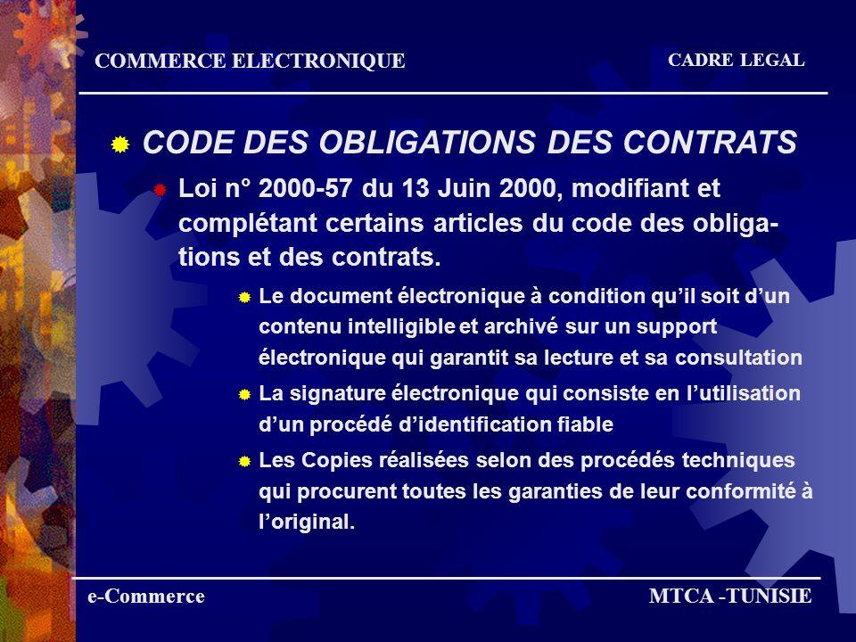e-CommerceMTCA -TUNISIE COMMERCE ELECTRONIQUE EXPERIENCES ARTISANAT Galerie marchande de la SOCOPA (produits de lArtisanat) www.ecom.tn Sites marchands des particuliers (privée) Souk El Web Raken Mosaïca