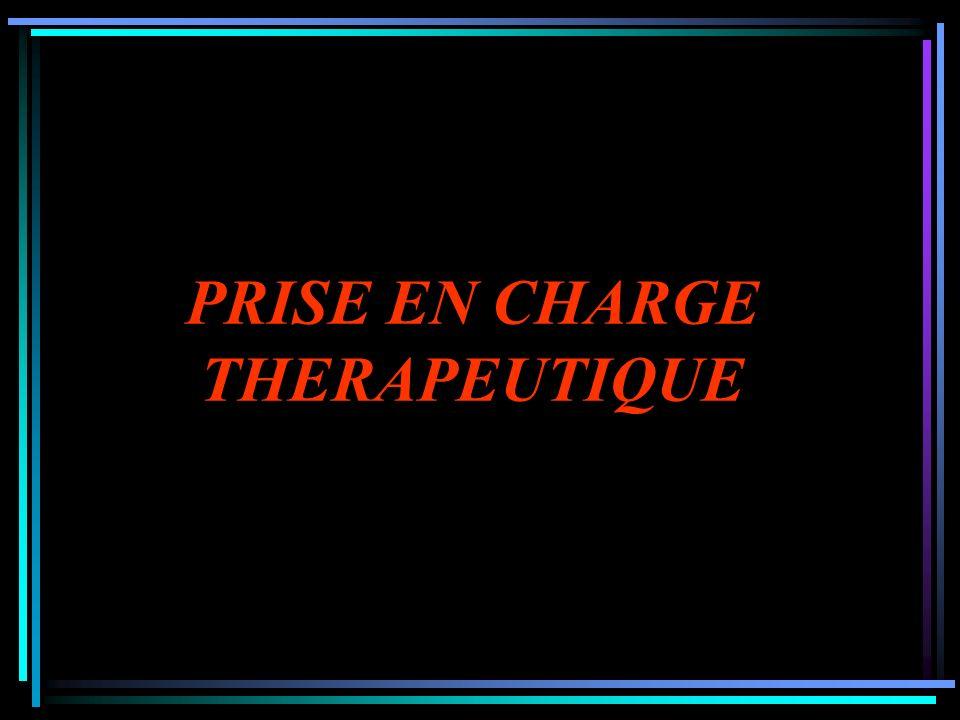 PRISE EN CHARGE THERAPEUTIQUE