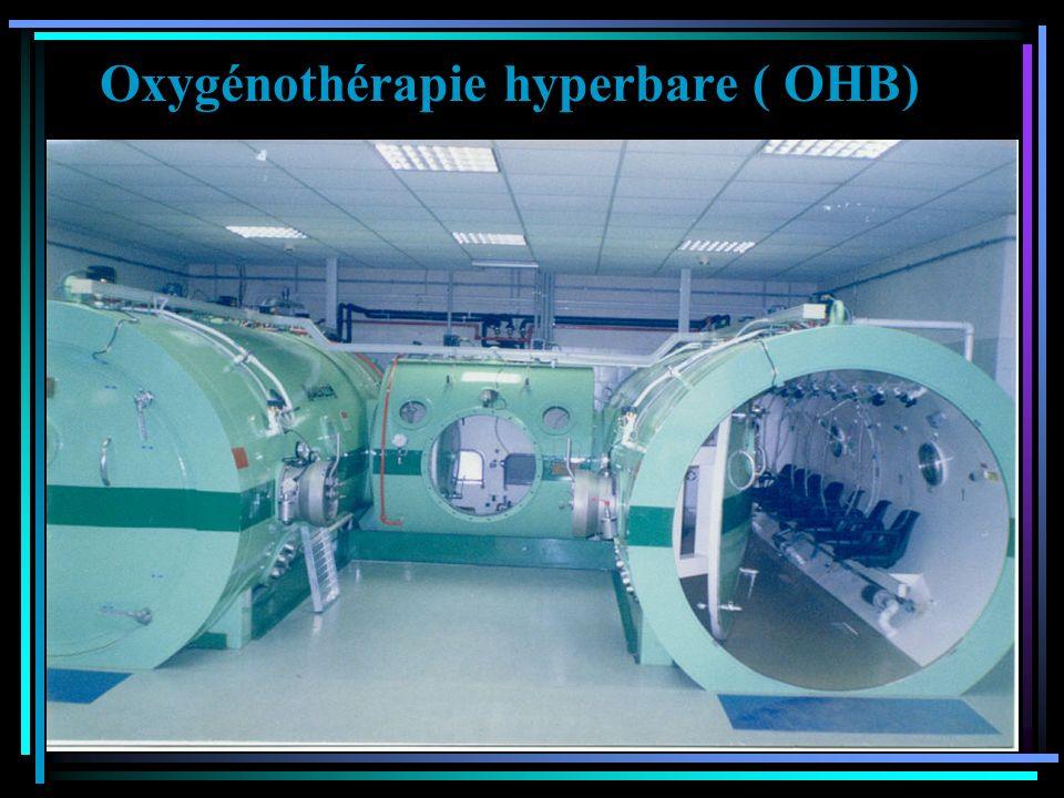 Oxygénothérapie hyperbare ( OHB)