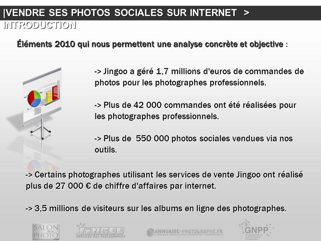 -> Jingoo a géré 1,7 millions d'euros de commandes de photos pour les photographes professionnels. -> Plus de 42 000 commandes ont été réalisées pour