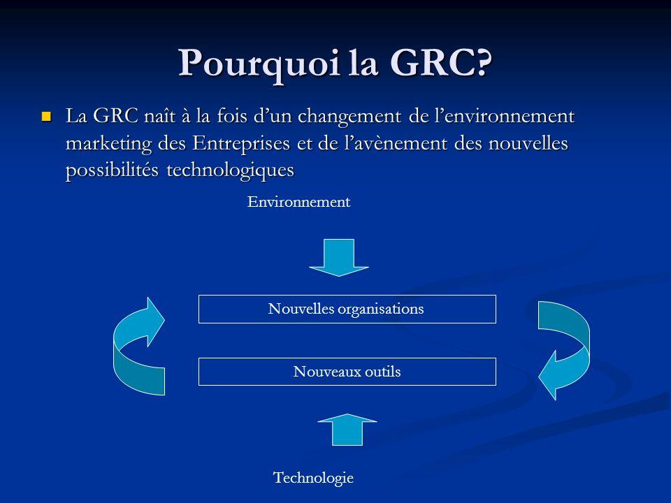 Pourquoi la GRC.