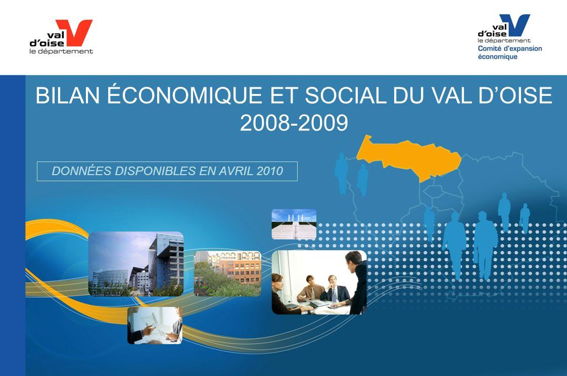 BILAN ÉCONOMIQUE ET SOCIAL DU VAL DOISE 2008-2009 DONNÉES DISPONIBLES EN AVRIL 2010
