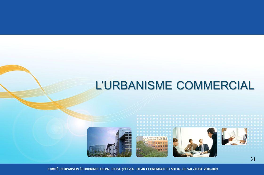 LURBANISME COMMERCIAL 31 COMITÉ DEXPANSION ÉCONOMIQUE DU VAL DOISE (CEEVO) – BILAN ÉCONOMIQUE ET SOCIAL DU VAL-D OISE 2008-2009