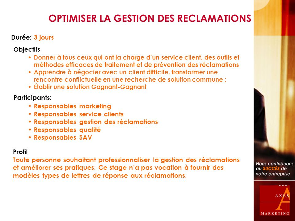 CONSTRUIRE SON PLAN D ACTION COMMERCIAL