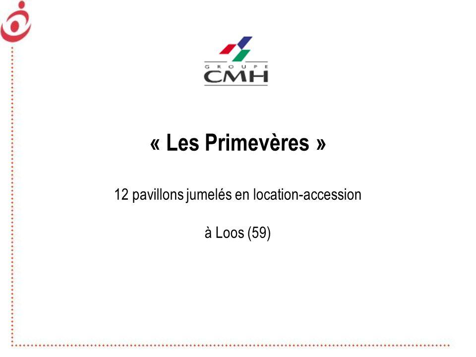 « Les Primevères » 12 pavillons jumelés en location-accession à Loos (59)