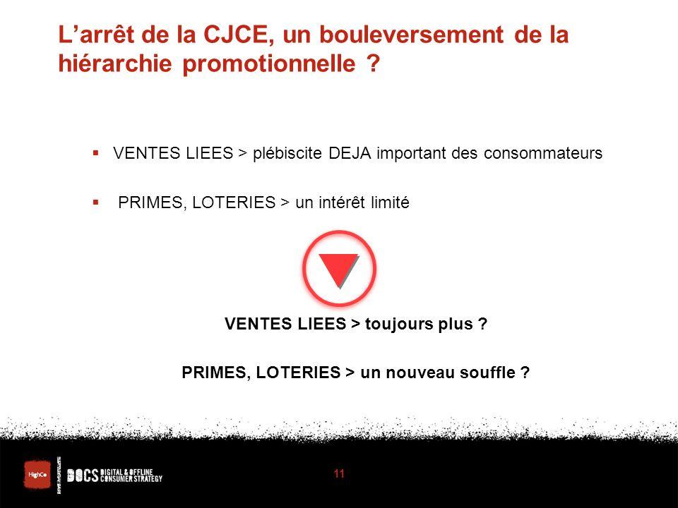 Larrêt de la CJCE, un bouleversement de la hiérarchie promotionnelle .