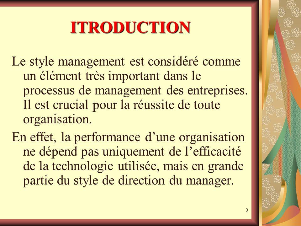 2 ITRODUCTION Quest-ce que un style management?