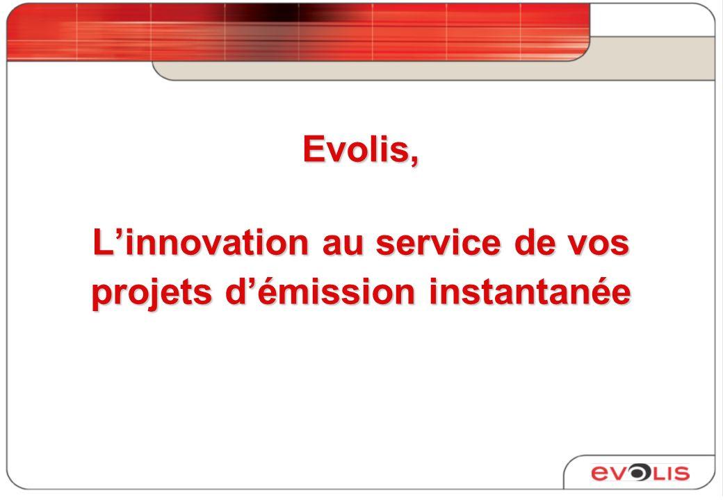 Evolis, Linnovation au service de vos projets démission instantanée