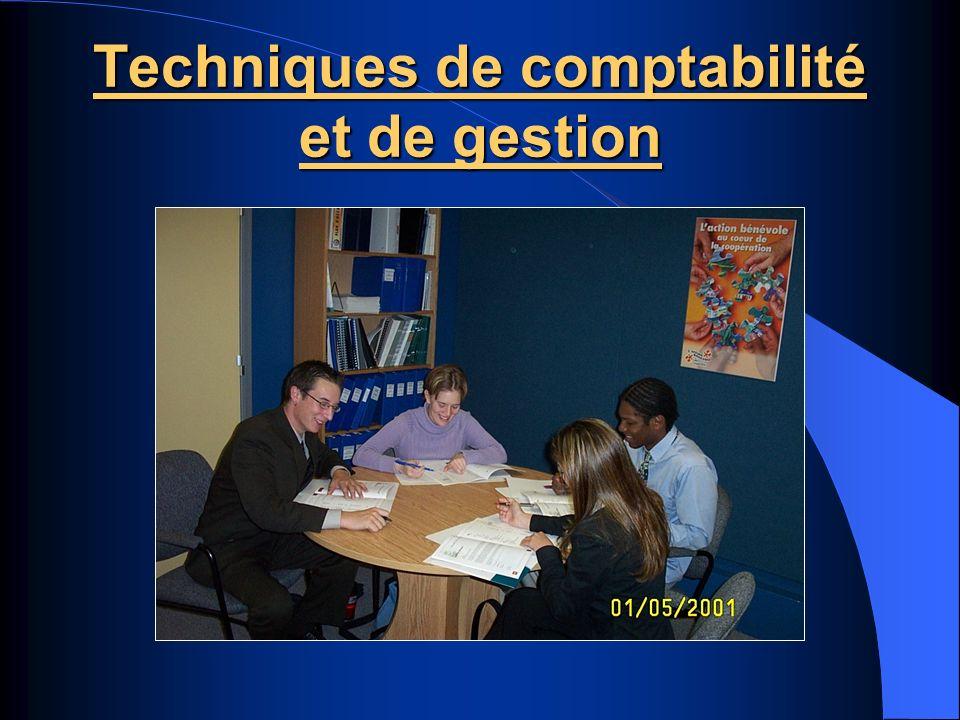 Techniques de comptabilité et de gestion