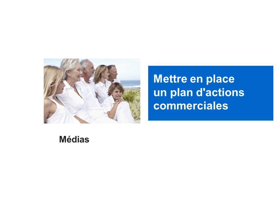 Mettre en place un plan d actions commerciales Médias