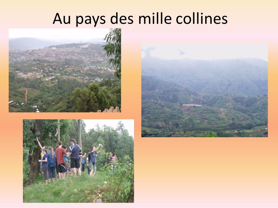 Au pays des mille collines