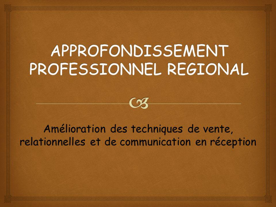 Cet approfondissement professionnel sinscrit dans le cadre dun projet complémentaire de formation.