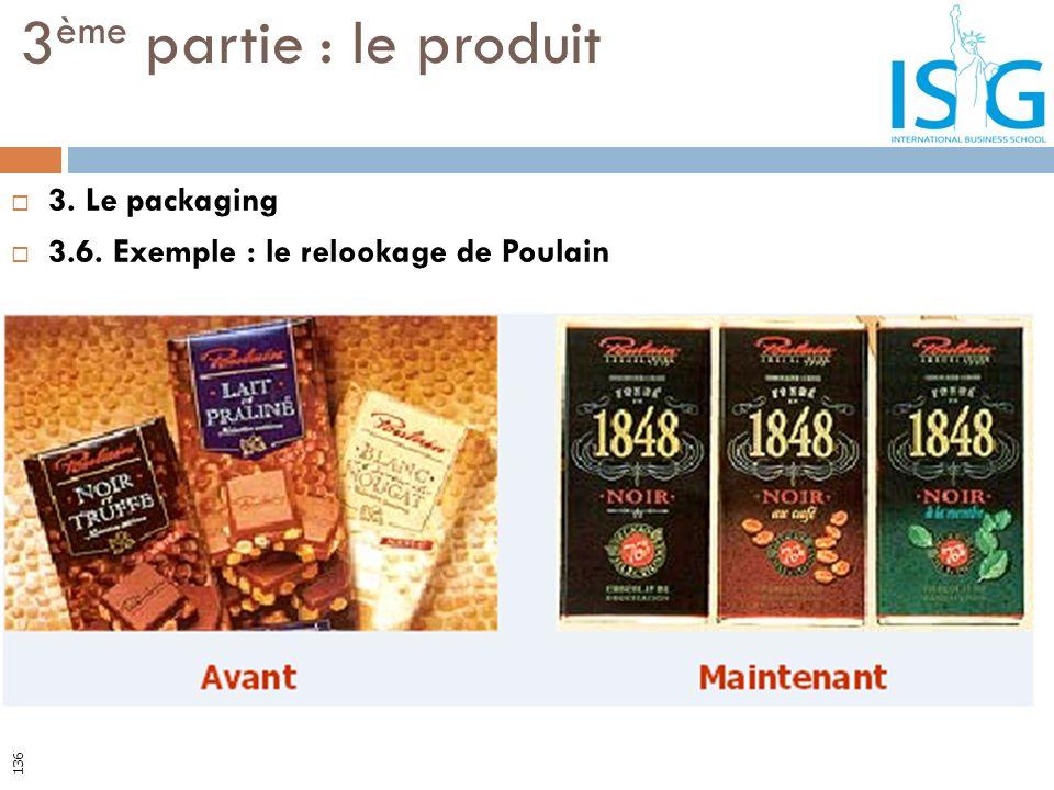 3. Le packaging 3.6. Exemple : le relookage de Poulain 3 ème partie : le produit 136