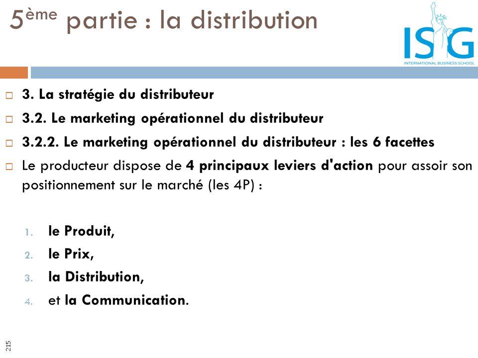 3. La stratégie du distributeur 3.2. Le marketing opérationnel du distributeur 3.2.2. Le marketing opérationnel du distributeur : les 6 facettes Le pr