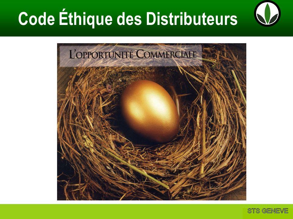 Philip & Anne Marie CAMUS Code Éthique des Distributeurs Affaire Herbalife basée sur la relation entre: Les Distributeurs et les Clients Les Distributeurs et les Prospects Les Distributeurs et les Distributeurs Code Éthique des Distributeurs
