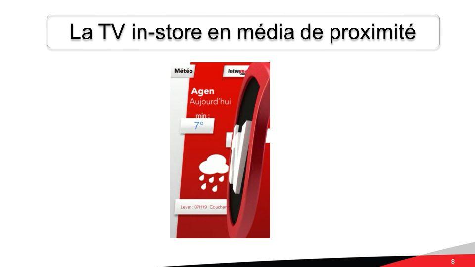 8 La TV in-store en média de proximité