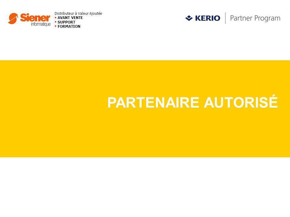Distributeur à Valeur Ajoutée AVANT VENTE SUPPORT FORMATION PARTENAIRE AUTORISÉ