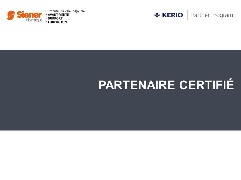 Distributeur à Valeur Ajoutée AVANT VENTE SUPPORT FORMATION PARTENAIRE CERTIFIÉ