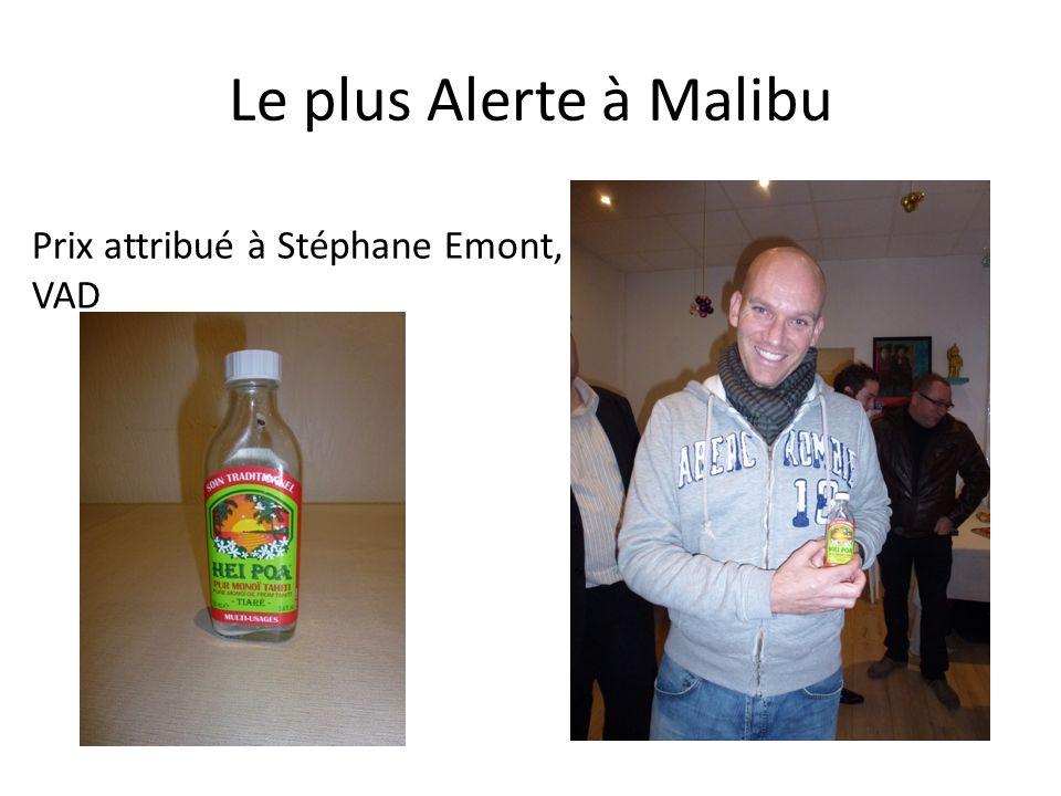 Le plus Alerte à Malibu Prix attribué à Stéphane Emont, VAD