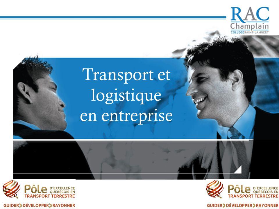 Transport et logistique en entreprise