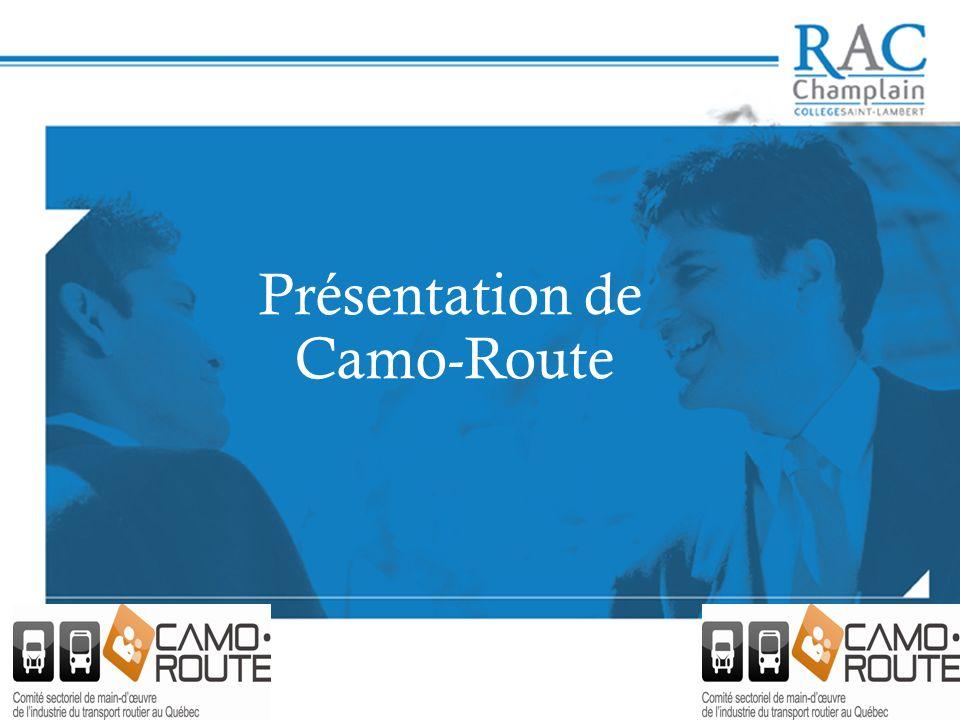 Présentation de Camo-Route