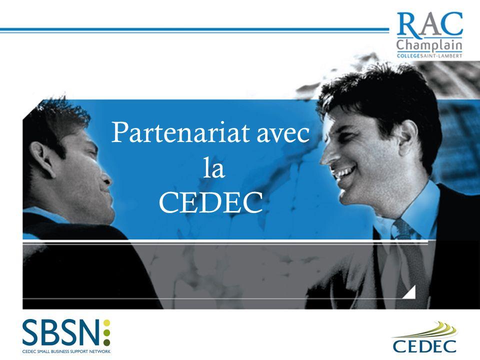 Partenariat avec la CEDEC