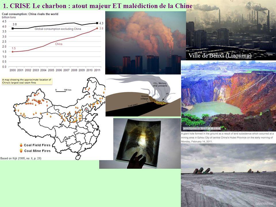 1. CRISE Le charbon : atout majeur ET malédiction de la Chine Ville de Benxi (Liaoning)