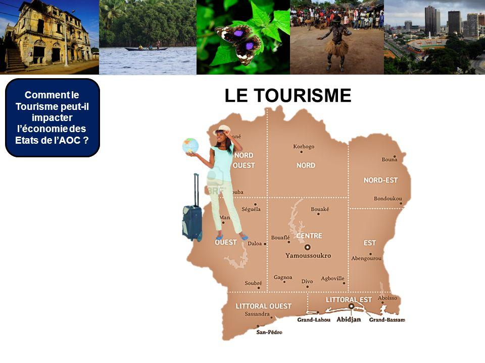 Comment le Tourisme peut-il impacter léconomie des Etats de lAOC ? LE TOURISME Comment le Tourisme peut-il impacter léconomie des Etats de lAOC ?