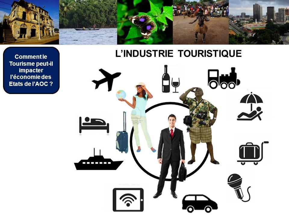 LINDUSTRIE TOURISTIQUE Comment le Tourisme peut-il impacter léconomie des Etats de lAOC ?