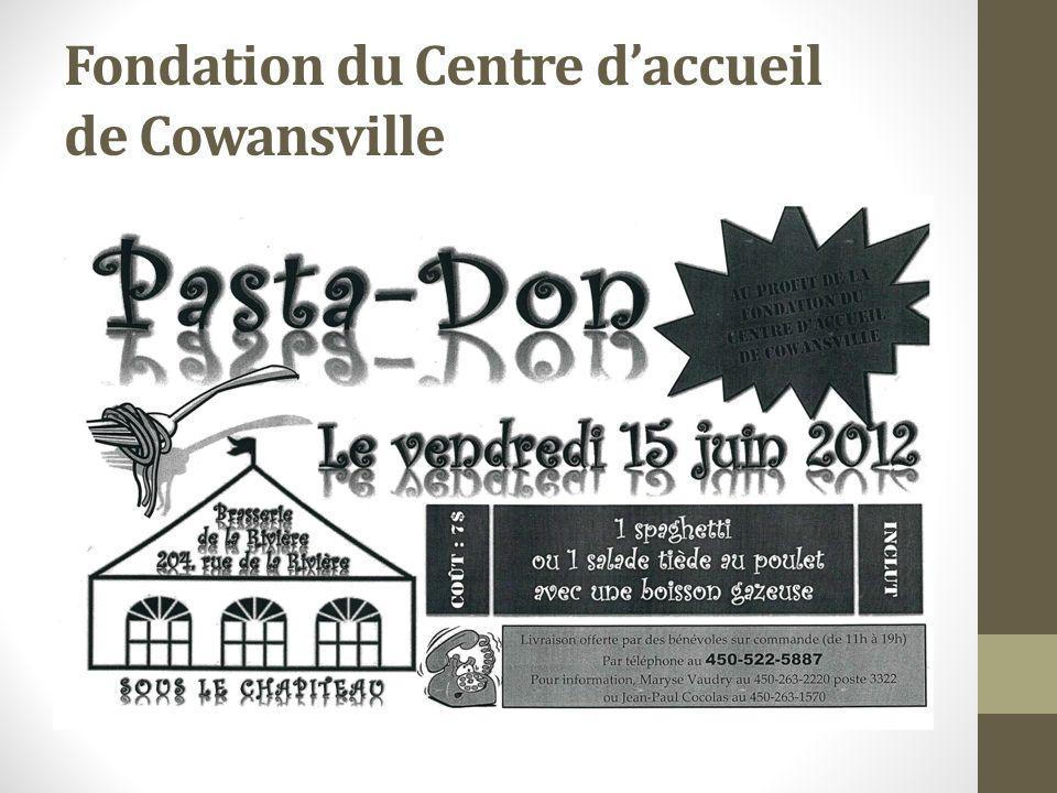 Fondation du Centre daccueil de Cowansville