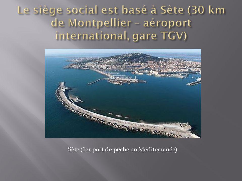 Sète (1er port de pêche en Méditerranée)