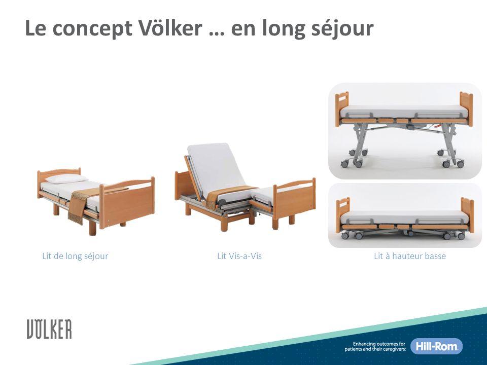 Le concept Völker … en long séjour Lit de long séjourLit Vis-a-VisLit à hauteur basse