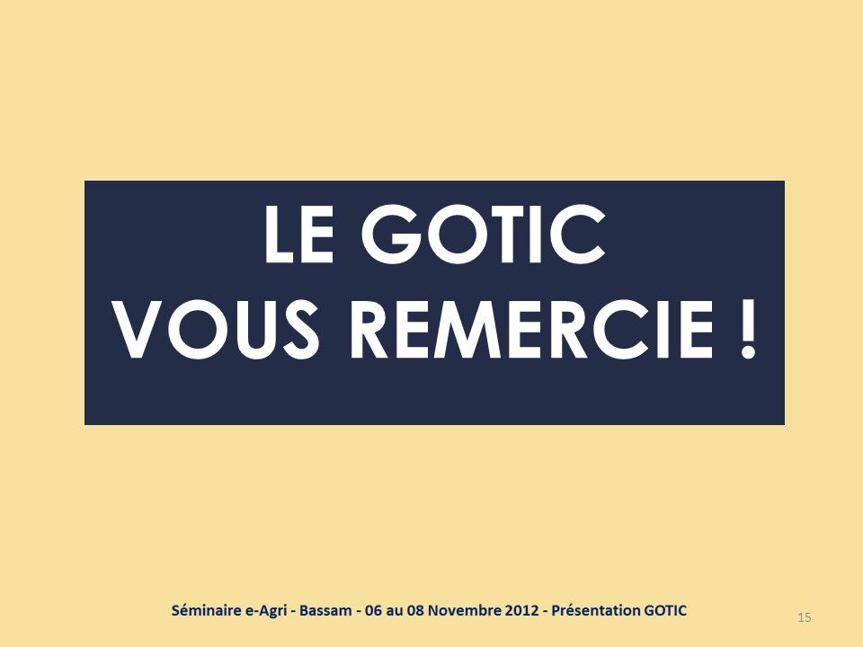 LE GOTIC VOUS REMERCIE ! 15