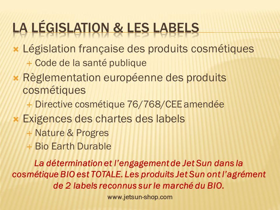 Législation française des produits cosmétiques Code de la santé publique Règlementation européenne des produits cosmétiques Directive cosmétique 76/76