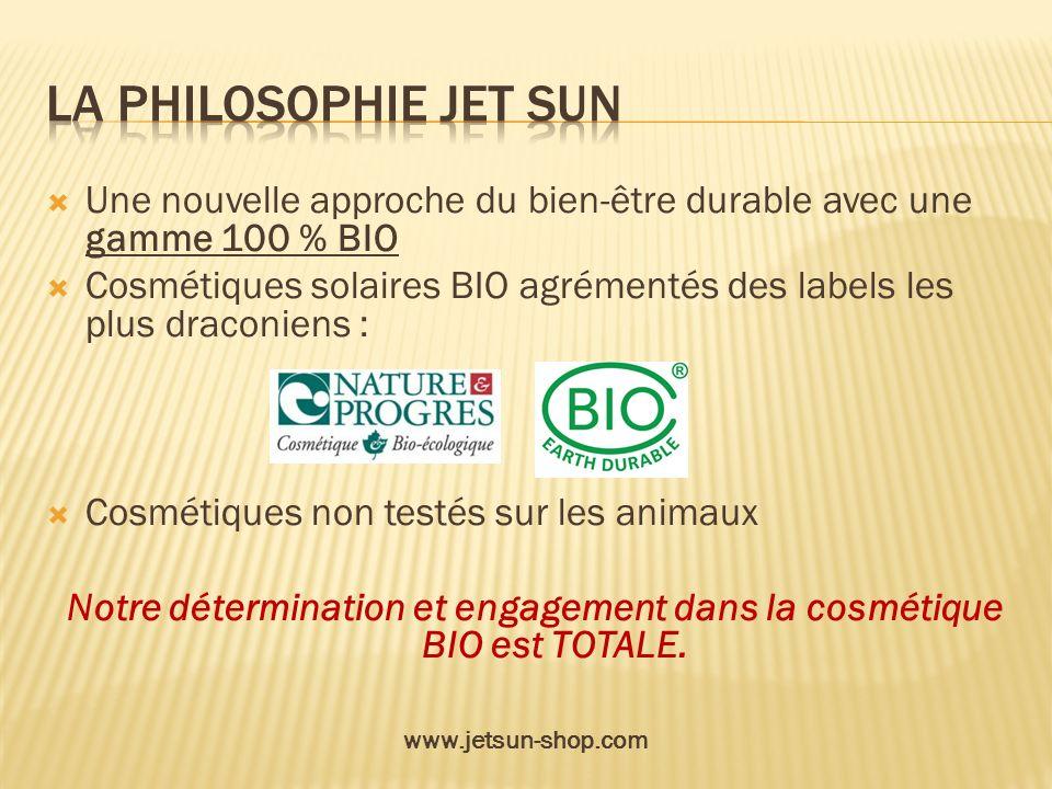 Une nouvelle approche du bien-être durable avec une gamme 100 % BIO Cosmétiques solaires BIO agrémentés des labels les plus draconiens : Cosmétiques n