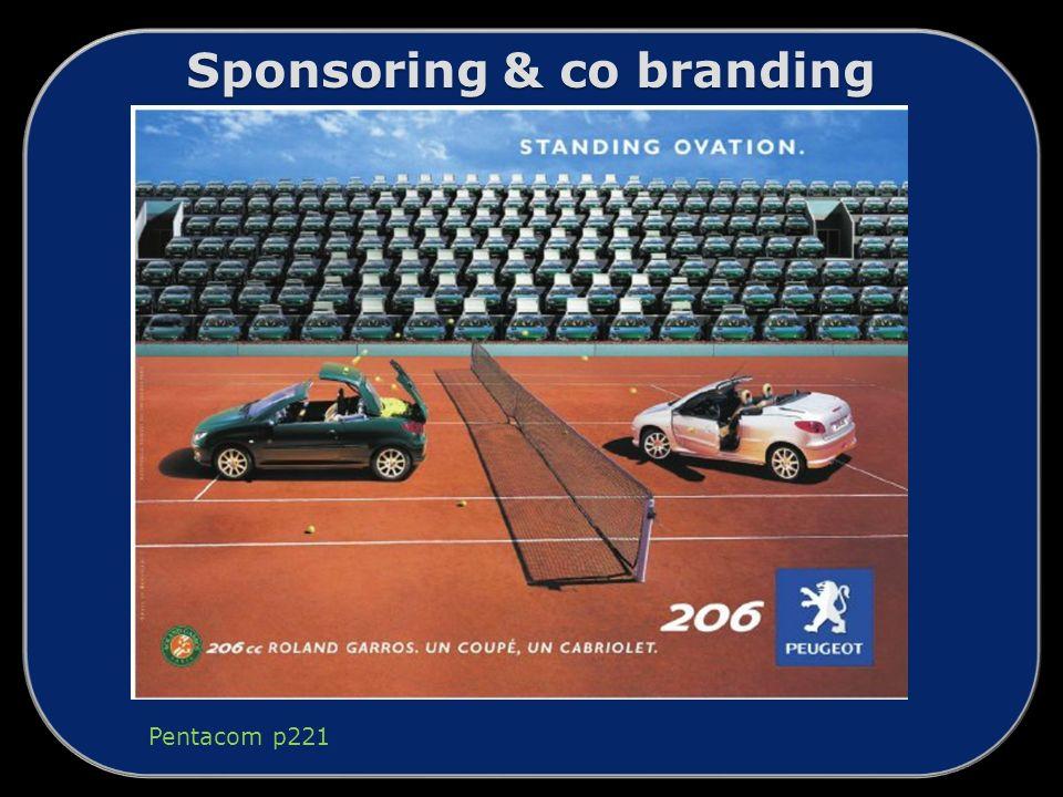 Sponsoring & co branding Pentacom p221