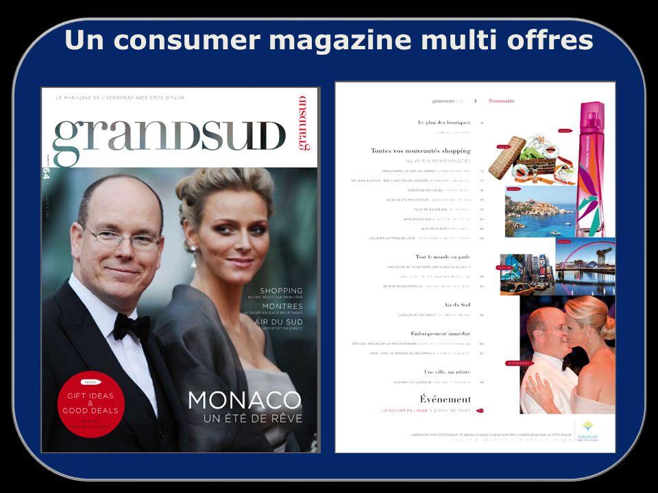 Un consumer magazine multi offres