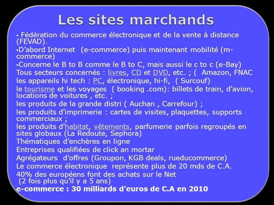 Fédération du commerce électronique et de la vente à distance (FEVAD).