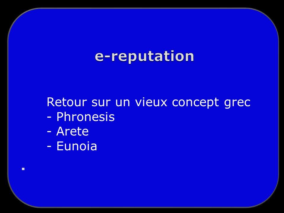 Retour sur un vieux concept grec - Phronesis - Arete - Eunoia