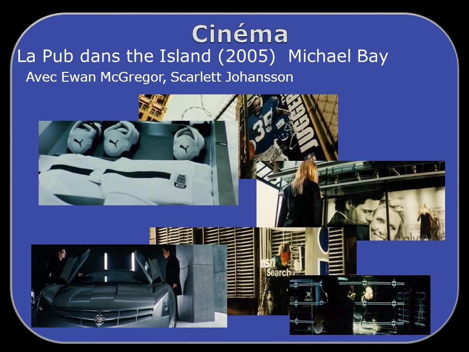 La Pub dans the Island (2005) Michael Bay Avec Ewan McGregor, Scarlett Johansson