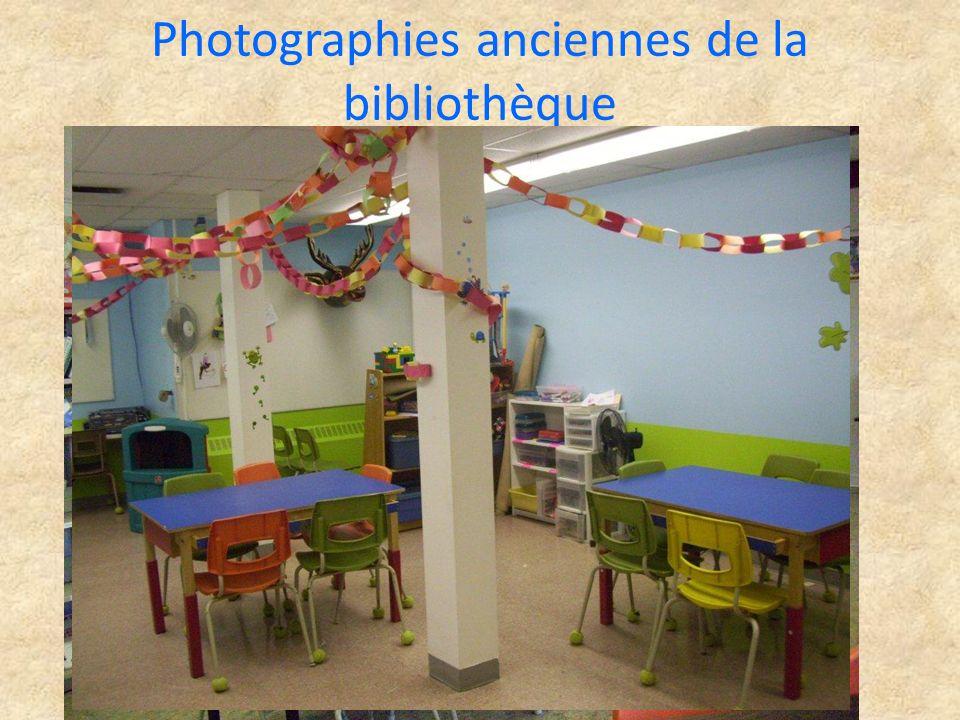 Photographies anciennes de la bibliothèque