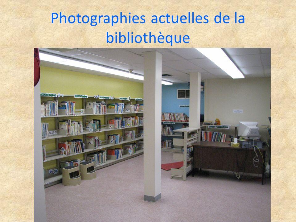 Plans de la future bibliothèque