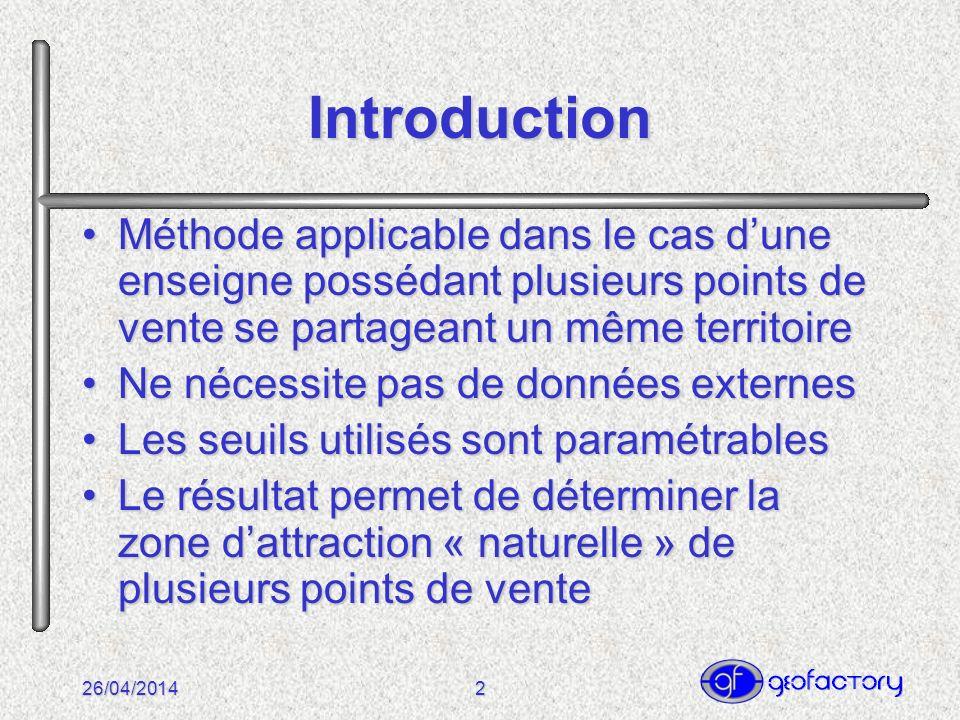 26/04/20143 Commune Verte 500 hab.Commune Mauve 200 hab.