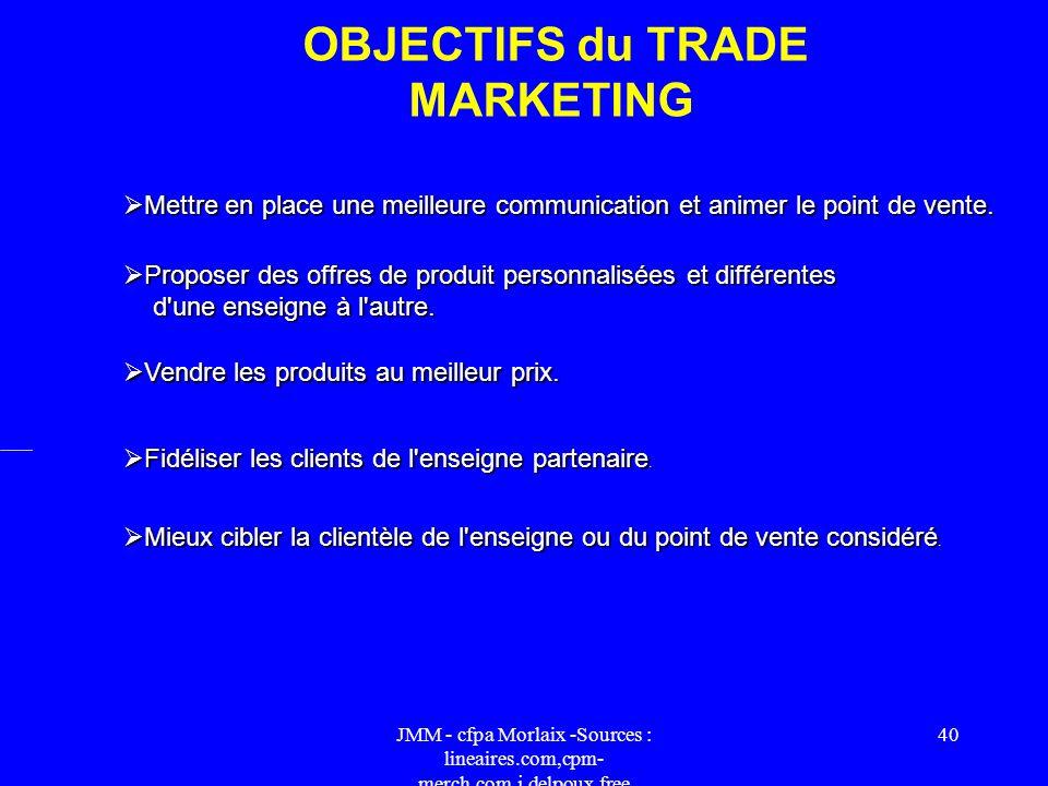 JMM - cfpa Morlaix -Sources : lineaires.com,cpm- merch.com,j.delpoux.free 39 Au début des années 90, les professionnels de la distribution concentrent