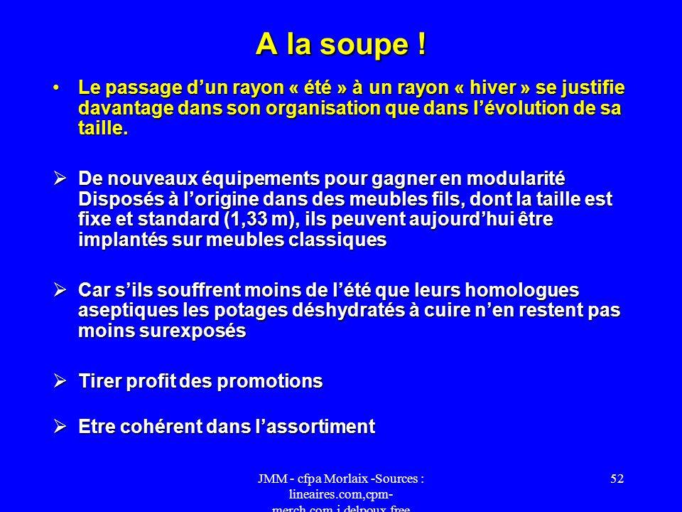 JMM - cfpa Morlaix -Sources : lineaires.com,cpm- merch.com,j.delpoux.free 51 La signalétique Caractérisé par une offre pléthorique et par la présence