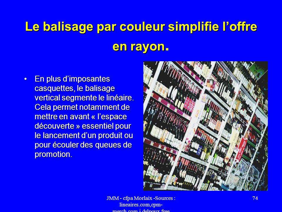 JMM - cfpa Morlaix -Sources : lineaires.com,cpm- merch.com,j.delpoux.free 73 Vins de Consommation Courante Pour valoriser et clarifier le linéaire de
